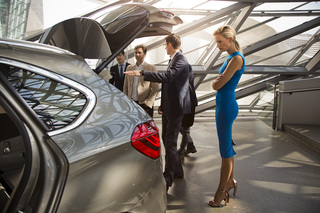 Karolína Kurková and BMW 2er